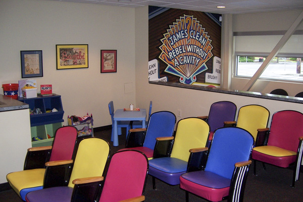 Waiting Area - Pediatric Dentist in Portland, Beaverton and Lake Oswego, OR