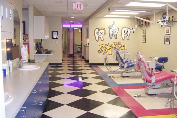 Hygiene Room - Pediatric Dentist in Portland, Beaverton and Lake Oswego, OR