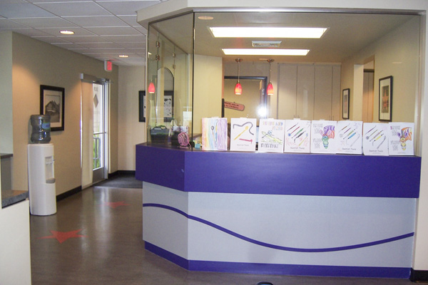 Reception Area - Pediatric Dentist in Portland, Beaverton and Lake Oswego, OR